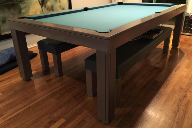 Amazoncom pool table dining table combination