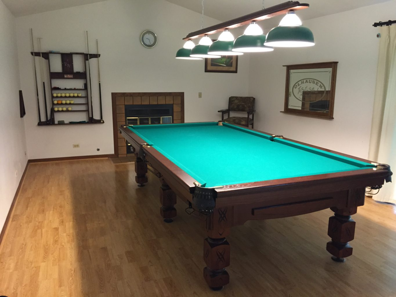 Olympus Pool Table, Illinois