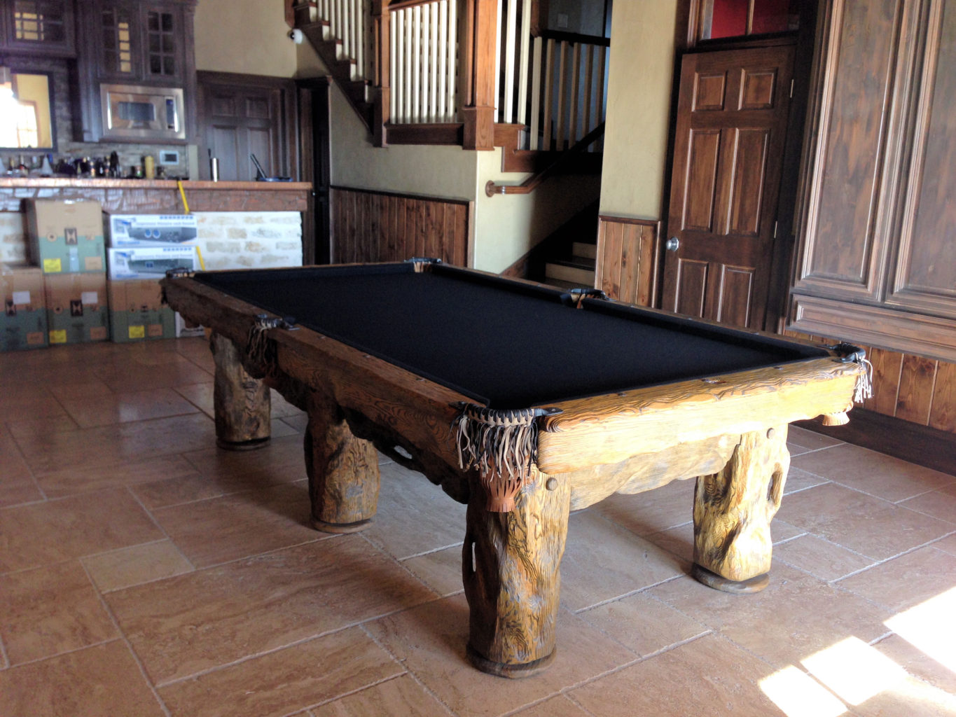Wilderness Rustic Pool Table, Texas
